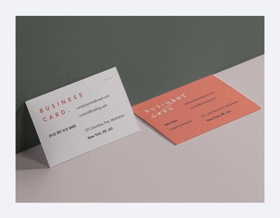 Free Psd Business Card Branding Mockup