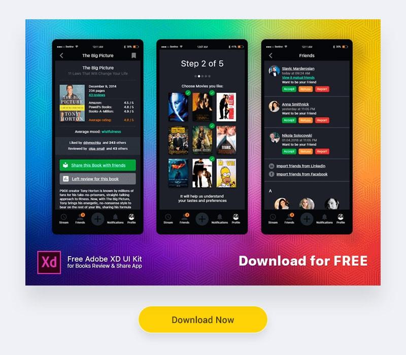 Free UI kits download