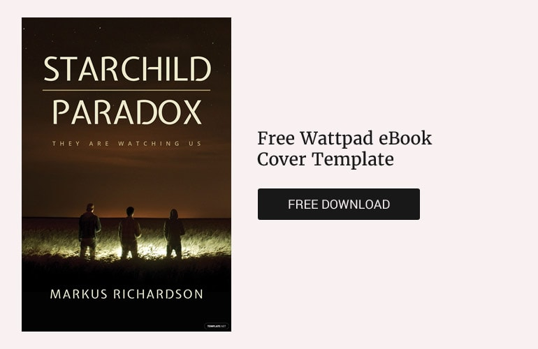 Free Wattpad eBook Cover Template