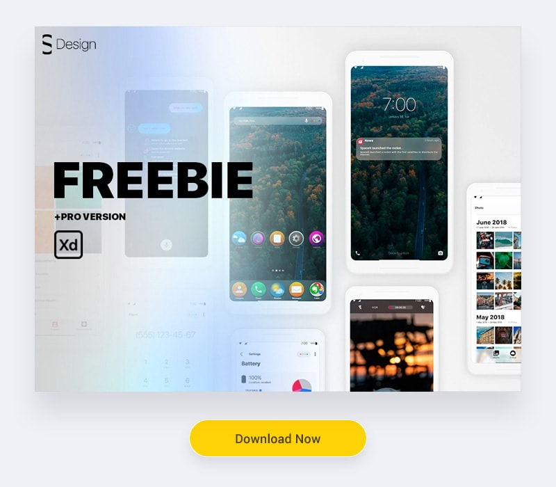 55+ Ultimate Adobe XD UI Kits (Free Download) — Thehotskills