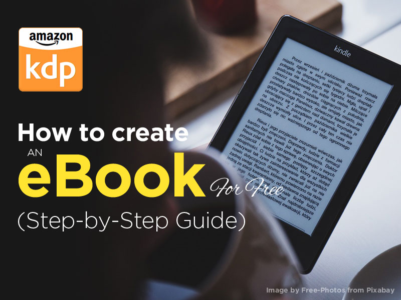How to Create an eBook free