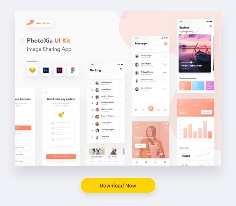 App UI kit free download