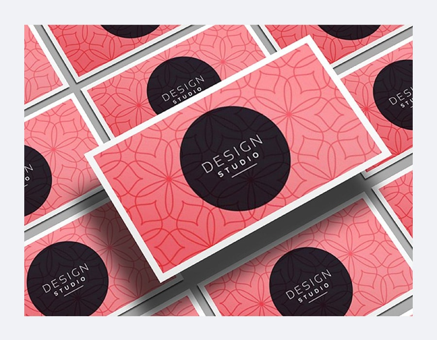 Realistic Business Card Mockups PSD