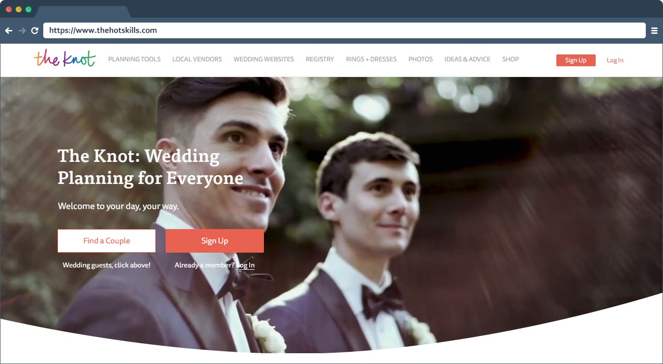 best wedding website builder free