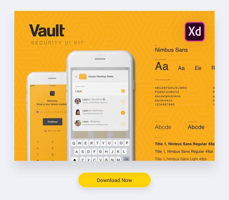 UI Kits Adobe XD
