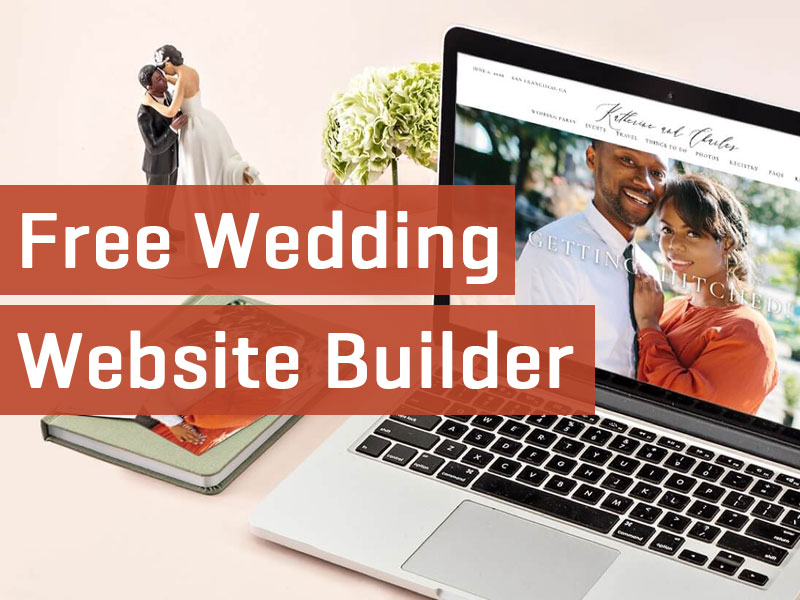 best wedding website builder free