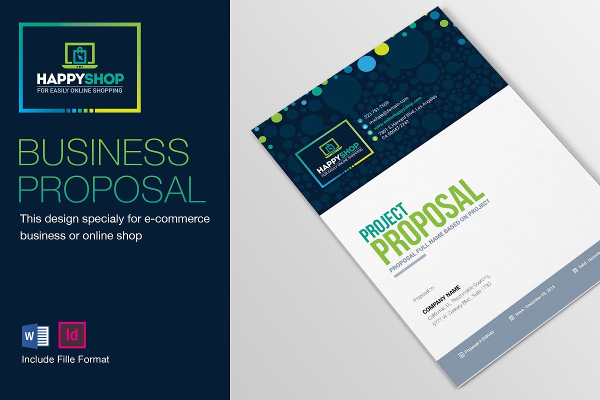 business proposal sample word doc