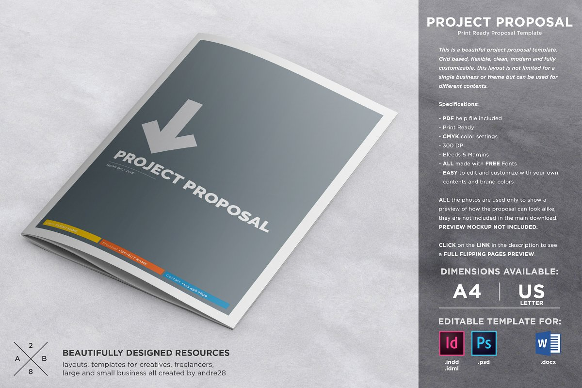 project business proposal template word
