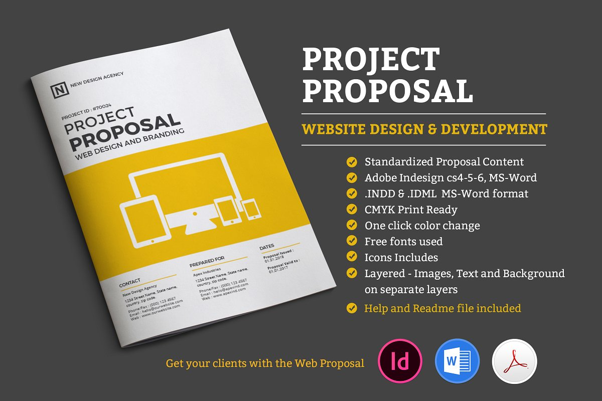simple business proposal template word