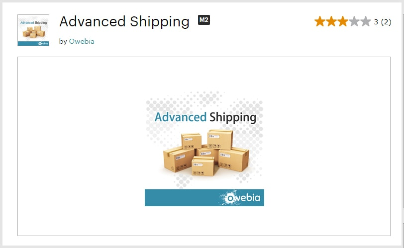 Advanced-Shipping Free Magento 2 Extensions