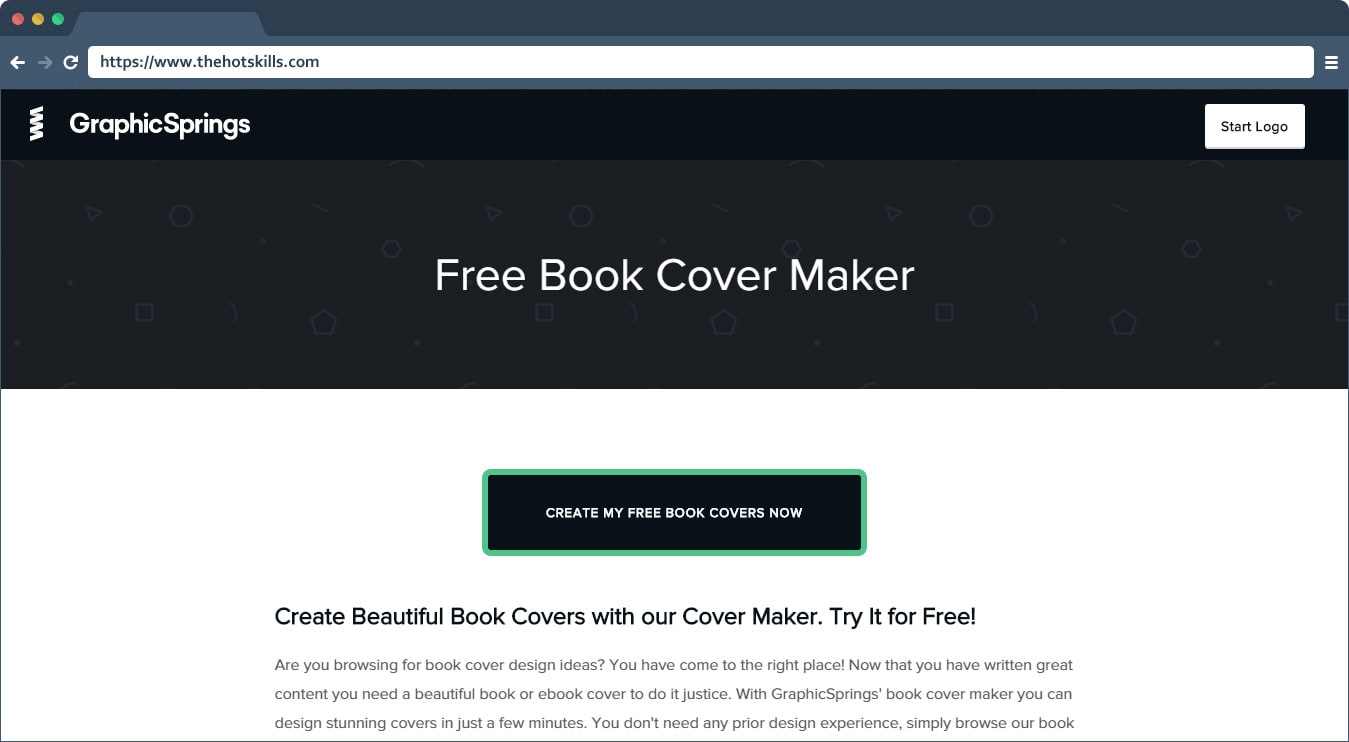 ebook cover maker free