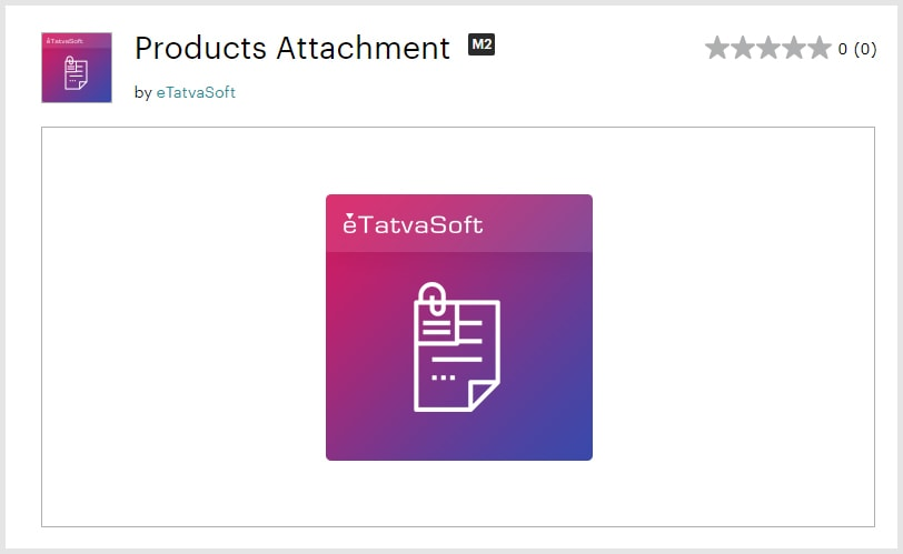 Products Attachment Free Magento 2 Extensions