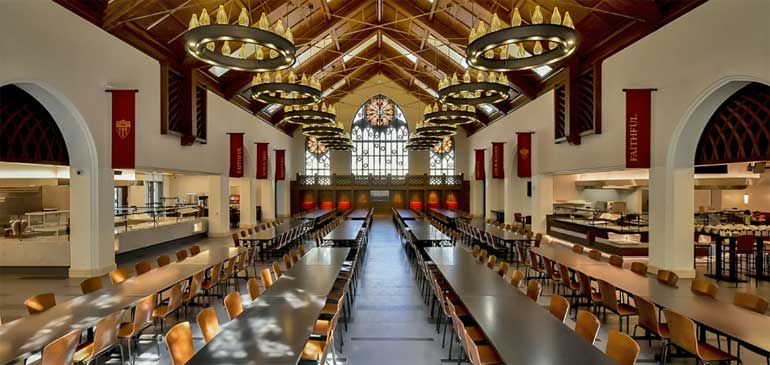 Best USC Dining Hall