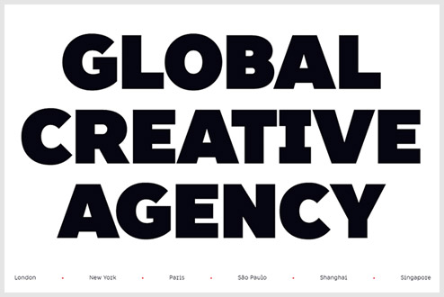 bold typography trends