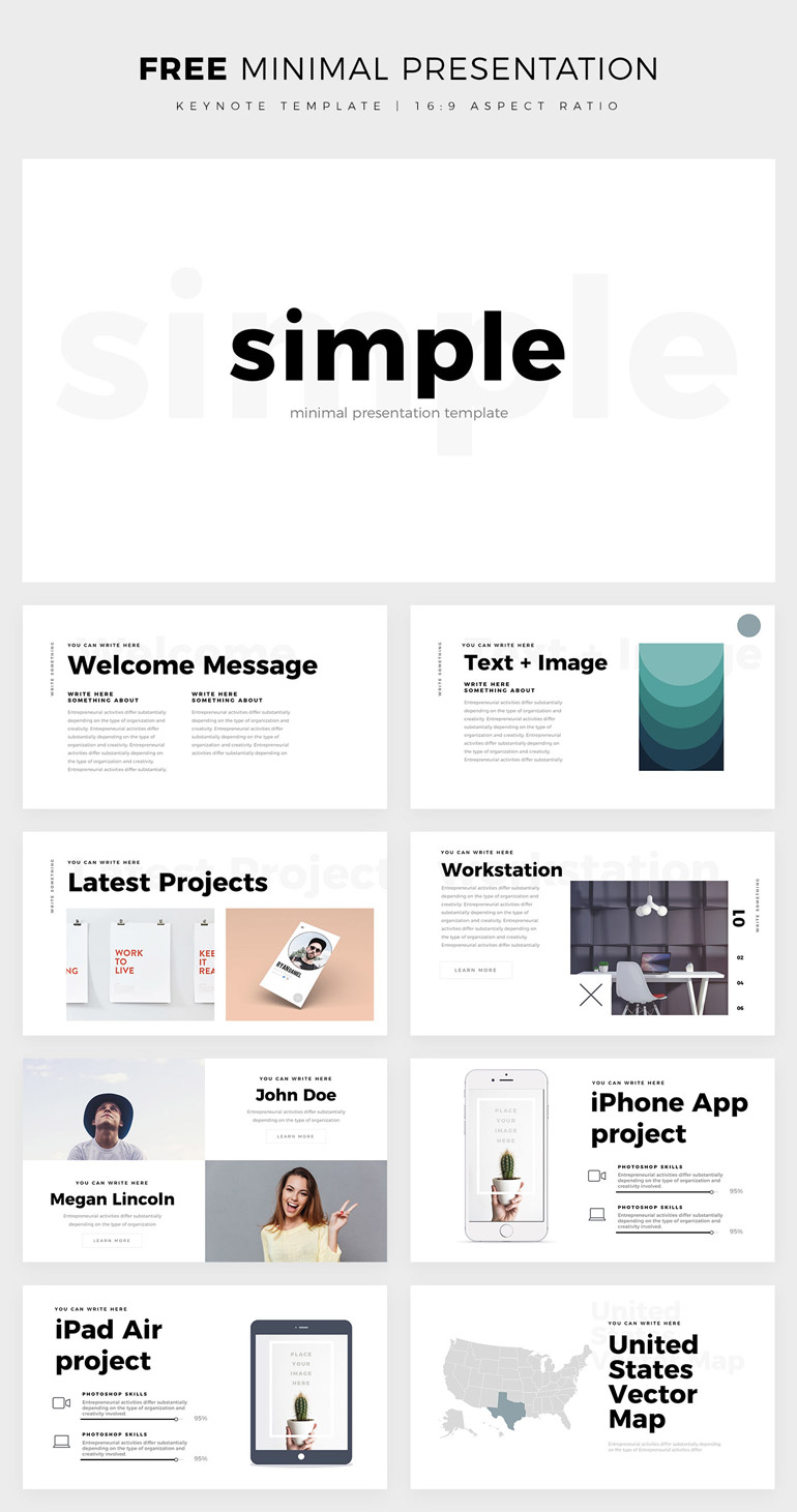 Image Titled: keynote templates free download 1