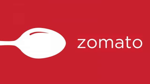 Zomato food delivery app