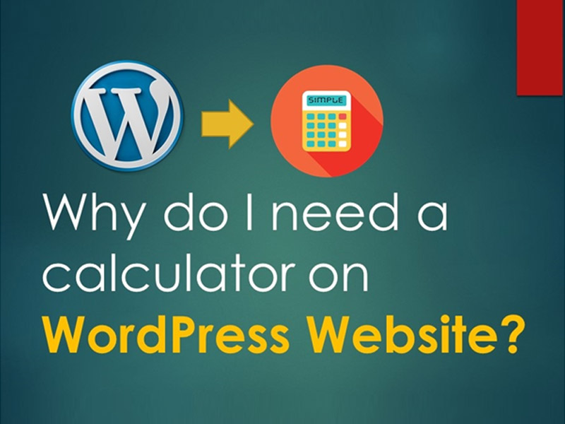 Calculator on WordPress Website