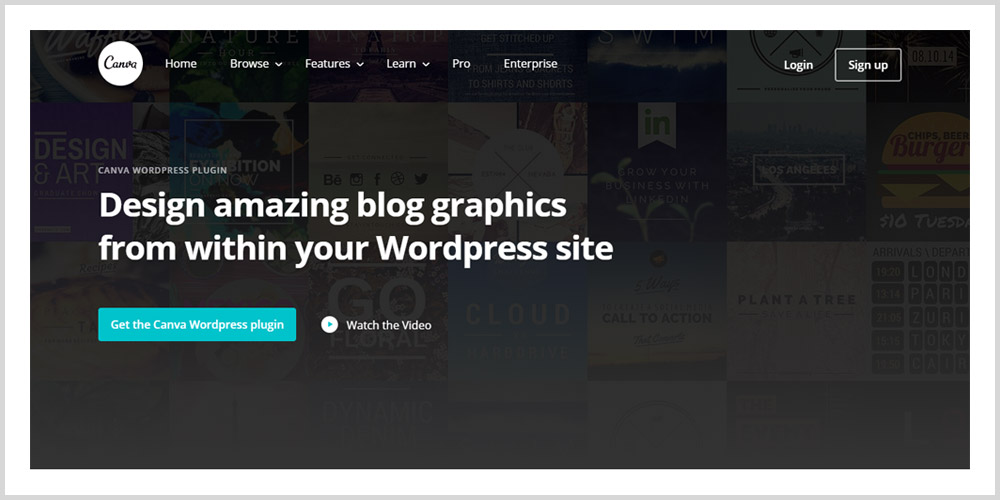 Canva WordPress Plugin