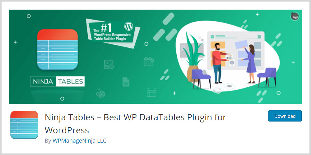 Ninja Tables WordPress Plugin