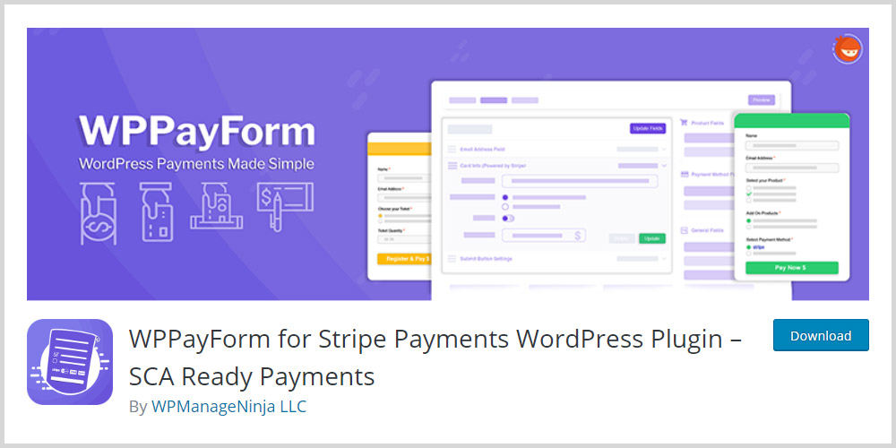 WPPayForm WordPress Plugin