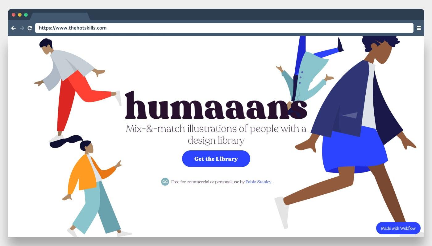 Humaaans Illustration Library